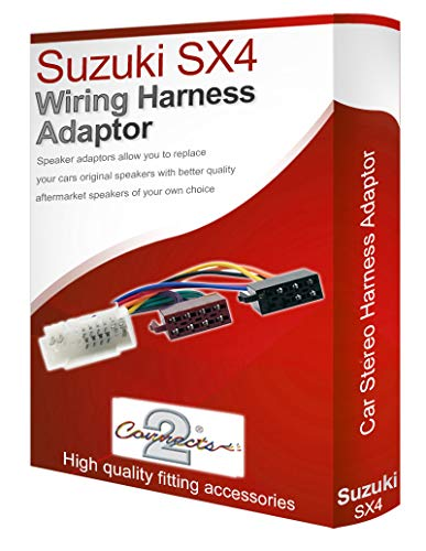 Sx4 CD radio stereo wiring harness adapter lead loom: Amazon.co.uk: Electronics