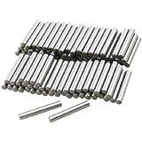 100 Pcs Stainless Steel 2.0mm x 15.8mm Dowel Pins Fasten Elements