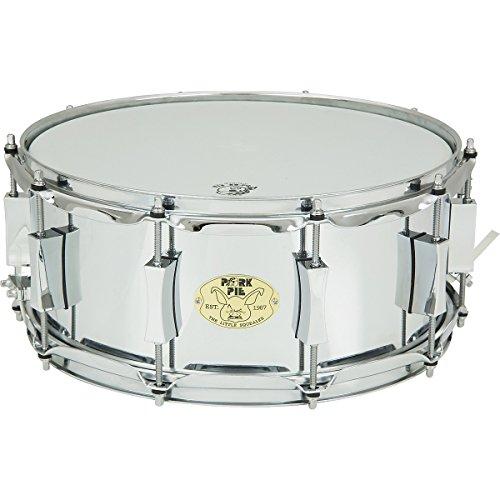 Pork Pie Little Squealer Steel Snare Drum 14 x 6 in.