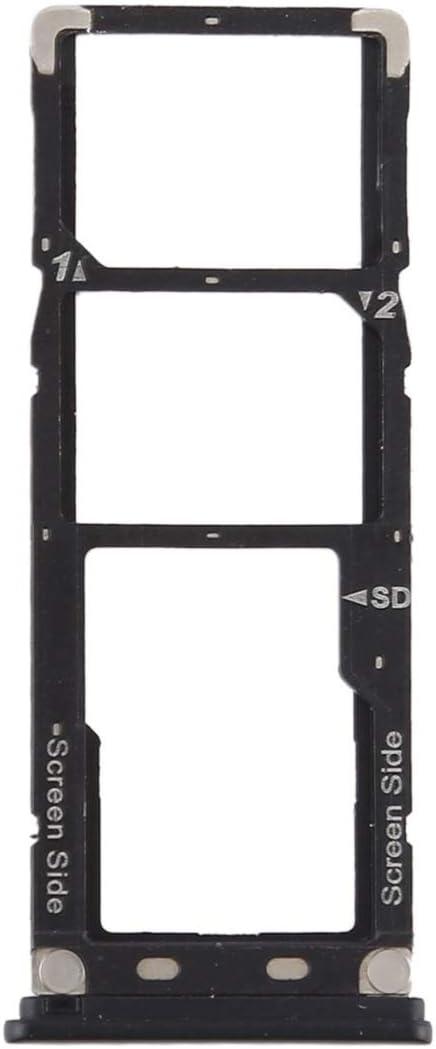 Micro SD Card Tray for Tenco Camon X Pro CA8 Replacement Color : Black XIAOMIN SIM Card Tray SIM Card Tray