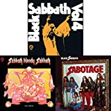 Black Sabbath: 3 Studio Albums 1972-1975 Discography CD Collection (Vol. 4 / Sabbath Bloody Sabbath / Sabotage)
