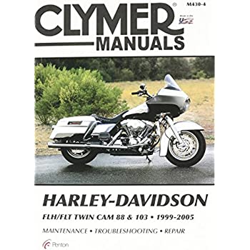 amazon com clymer repair manual for harley flh flt twin cam 88 99 rh amazon com 2005 flhtcui owners manual 2005 flhtcui owners manual