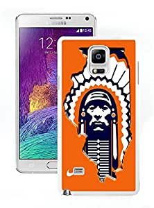 Beautiful Designed Case With Illinois Fighting Illini 01 White For Samsung Galaxy Note 4 N910A N910T N910P N910V N910R4 Phone Case