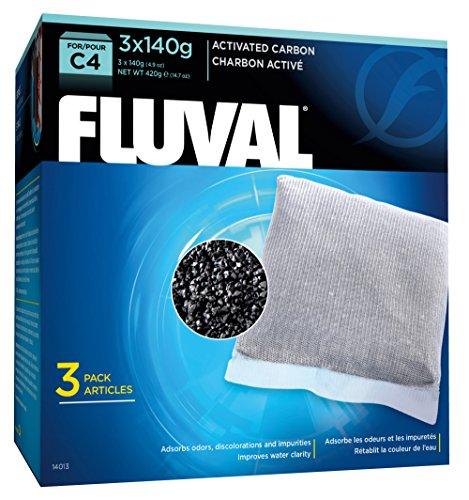 C4 Carbon (Fluval C4 Carbon - 3-Pack)
