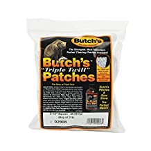 Butch's Twill Cleaning Patches (Bag of 375) (2-1/2-Inch)