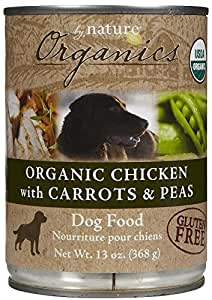 By Nature Organics - Chicken, Carrots & Peas - 12 x 13 oz