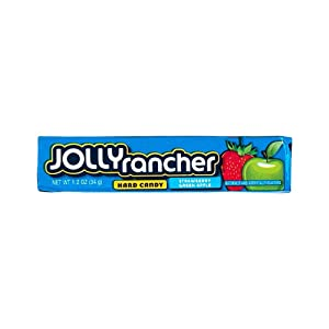 Jolly Rancher Strawberry Green Apple Hard Candy Pouch, 34 g