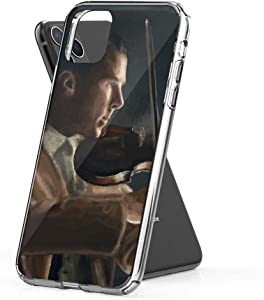 Phone Case Sherlock with His Violin Abominable Case Cover Compatible for iPhone (11) Clear Design