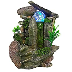 Tabletop Fountain Indoor Fountain Waterfall Nature's Garden