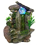 Best Indoor Fountains - Tabletop Fountain Indoor Fountain Waterfall Nature's Garden Review