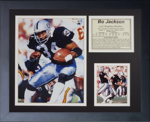 - Legends Never Die Bo Jackson Framed Photo Collage, Black, 11x14-Inch