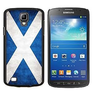 TECHCASE---Cubierta de la caja de protección para la piel dura ** Samsung Galaxy S4 Active i9295 ** --Nacional bandera de la nación País Escocia