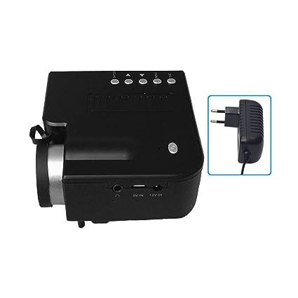 UC28B + Inicio proyector LED portátil Mini 1080P HD proyección ...
