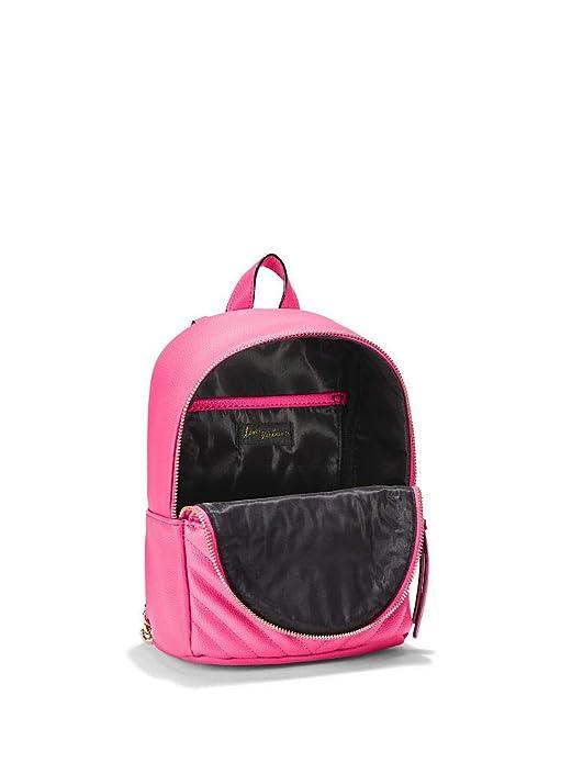 903c4a22d1 Amazon.com  Victoria Secret Pebbled V-Quilt Small City Backpack  Shoes