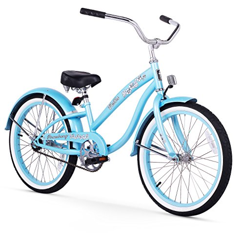 (Firmstrong Bella Classic Girl's Single Speed Cruiser Bicycle, 20-Inch, Baby Blue)