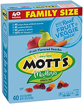 40-Count Mott's Medleys Fruit Flavored Snacks 32 oz.