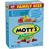 Mott's Medleys Fruit Flavored Snacks, Assorted Fruit, Value Pack, 40 Pouches, 32 oz.