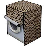 Dream Care Circle Printed Waterproof Washing Machine cover for LG FH0H3NDNL02 6 kg Fully Automatic Front Loading