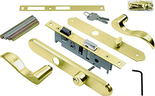 Wright Products VMT115PB SERENADE Style  MORTISE SET, BRASS