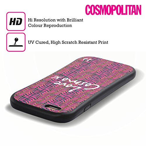 Official Cosmopolitan Pink Zebra Animal Print Hybrid Case for Apple iPhone 6 / 6s