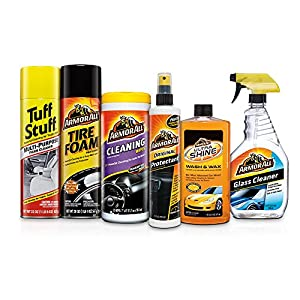 Armor All Complete Car Care Kit Gift Pack, Holiday Gift Pack, 6 Items