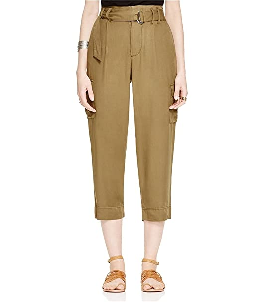 65d055eedafd3 Free People Womens Belted Twill Cargo Pants Green 0 at Amazon ...