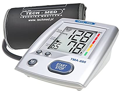 TechMed TMA-1 880 Manómetro automática brazo Pulso Medidor Tensiómetro de presión arterial