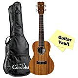 Cordoba 15CM Concert Ukulele Bundle With Cordoba Gig Bag and Polishing Cloth
