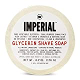 Glycerin Shave Soap 6.2oz soap by Imperial