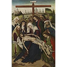 Oil painting 'Anonymous Lamentacion Ca. 1470 ' printing on high quality polyster Canvas , 24 x 37 inch / 61 x 94 cm ,the best Garage gallery art and Home decoration and Gifts is this Cheap but High quality Art Decorative Art Decorative Prints on Canvas