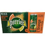 Perrier Slim Can Orange, 2500ml