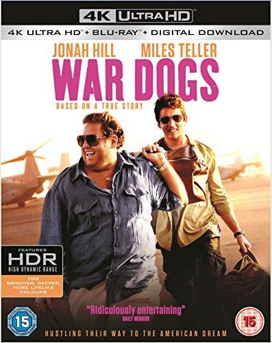 War Dogs (4K Ultra HD Blu-ray) [Includes Digital Download] [2016]