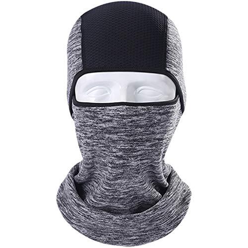 Winter Thermal Fleece Balaclava Full Face Mask Warmer Cycling Hood Liner Sports Ski Bicycle Bike Snowboard Face Shield Hat Cap,11 -