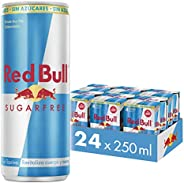 Energético Red Bull Energy Drink Sugar Free Pack com 24 Latas de 250ml
