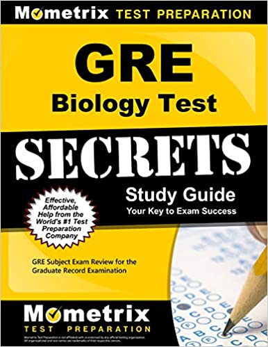 Buy Gre Biology Test Secrets Gre Subject Exam Review For The Graduate Record Examination Book Online At Low Prices In India Gre Biology Test Secrets Gre Subject Exam Review For The