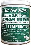 Silverhook SGPG01 - Lata de grasa de litio EP2, 500 g