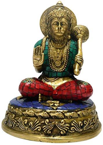 CraftVatika Large Monkey God Statue, Hanuman Hindu Lord Statue - Large Hindu STatu11