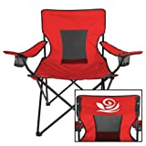 CollegeFanGear Alpha Gamma Delta Deluxe Red Captains Chair 'Official Rose'