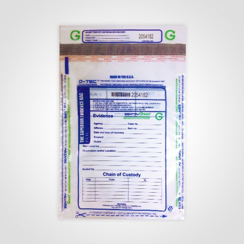 Evidence Security Bag - Superior Bag Evidence Bag 9-by-12 Inch Clear Plastic (Package of 100)