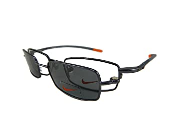 New Nike Rx Prescription Flexon Eyeglass Frame With Clip-On Sunglasses  #9080MAG-SET