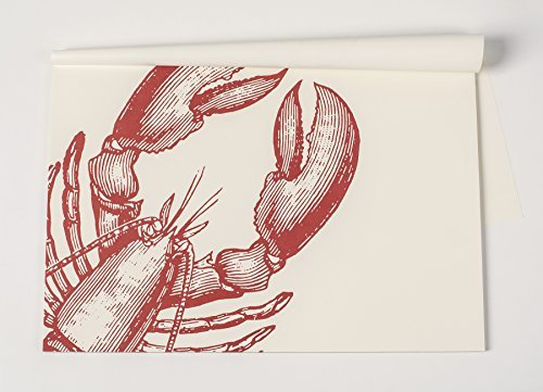 Kitchen Papers Lobster Paper Placemat 30 Sheets American Made