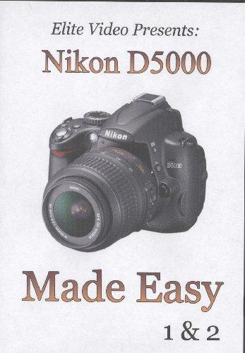 Nikon D5000 Made Easy (2 Disc Tutorial DVD Set) Dvd Rom Firmware