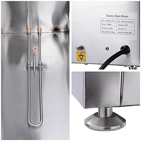 Amazon.com: Dual Countertop calentador de alimentos Vapor ...