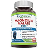 Pure Naturals Magnesium Malate 1250 Mg 180 Tablets
