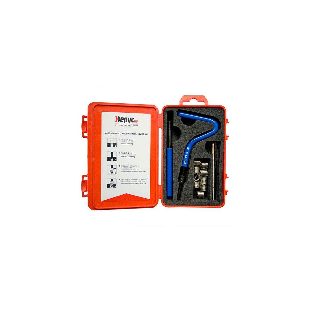 HEPYC 27120030800 –  Insetos Farbe fü r Farbe, ø unc 3/8 –  16 mm (Kits)