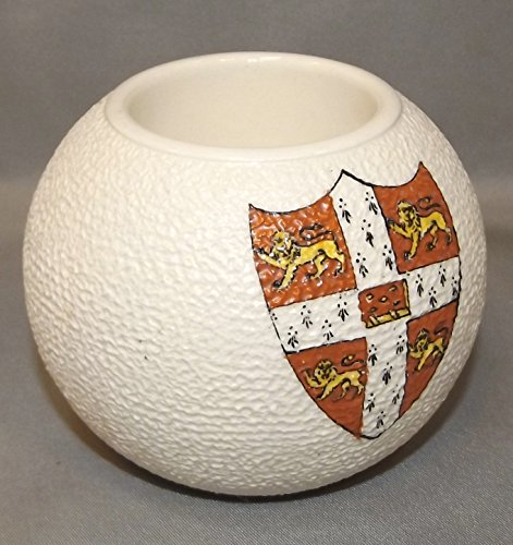 Antique Wiltshaw & Robinson Carlton Ware Cambridge University Crest Match Holder
