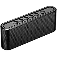 Forone Wireless Touch Control Portable Stereo V4.2 Bluetooth Speaker with Build-in Mic