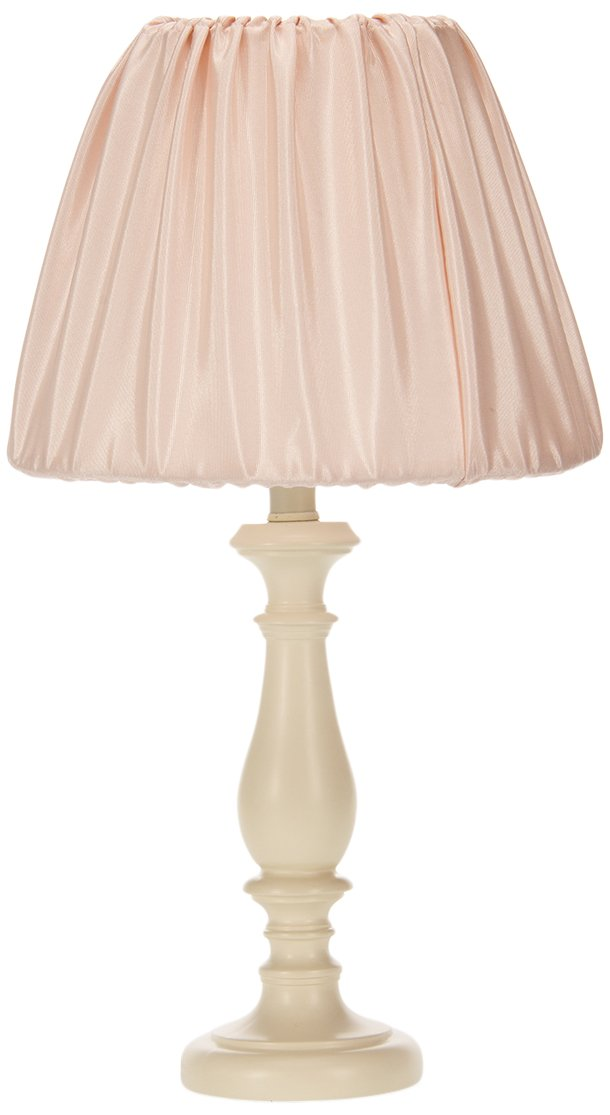 Sweet Potato Lil' Princess Lamp Base with Shade, Cream/Pink by Sweet Potatoes