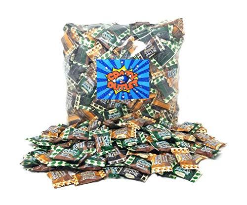 (Marbled Smooth Swirled Hard Candy - Coffee, Caramel & Mint Treats Bulk Pack, 3 lbs)
