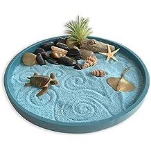 Mini Zen Garden Sea Life, A Day at the Ocean, Desktop Sandbox for Meditation and Relaxation
